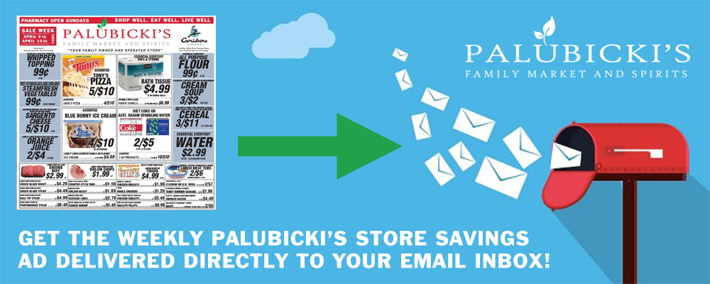 Palubicki's Weekly Ad Signup